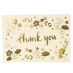 Thank You in Gold - Karte